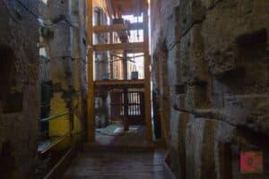 Colosseum elevator replica
